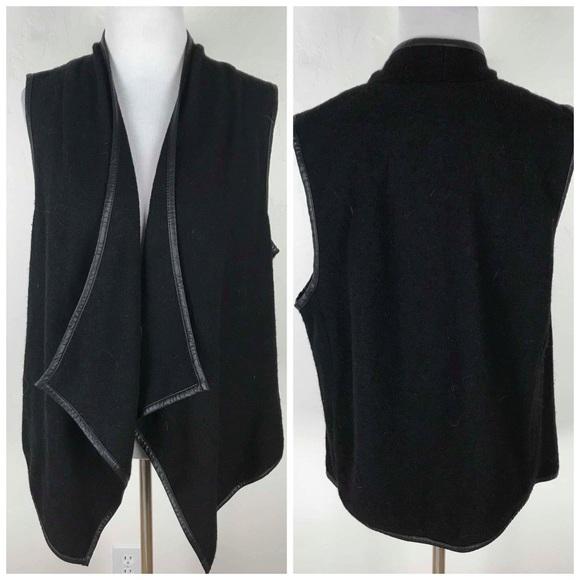 9d29d8b9c7ee2a BB Dakota Jackets   Blazers - BB Dakota Black Waterfall Vest